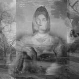 Die Fiktion der Ferne, 2013, 70 x 100 cm, Collage auf Papier
