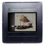 Fähre, 1990, 3,5 x 28 cm