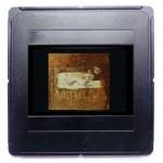Der Diskurs, 1988, 28 x 29 cm, Öl auf Nessel